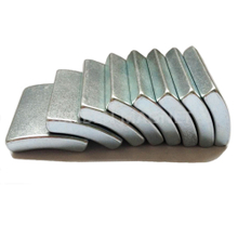 N38 high performance magnetic motor neodymium arc segment curved magnets