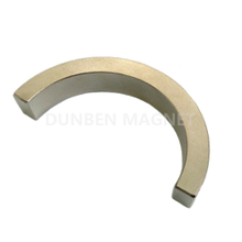 Powerful permanent sintered arc curved shape neodymium magnets for permanent magnet motor