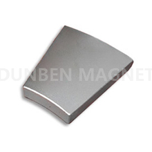 Industrial cheap arc/sector/wedge neodymium magnet for generator vertical wind turbine/ permanent magnet alternator