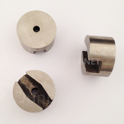 High quality cast alnico button magnet OEM