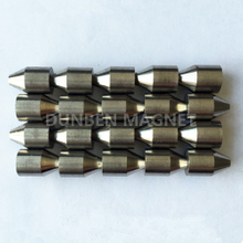 Bullet Shape Cast AlNiCo Magnet , Alnico 5 For Instruments