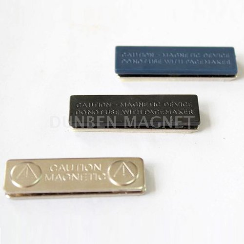 Magnetic Name Badge Tag Fastener,Standard Magnetic Name Badge with Customer Logo,Rectangle Magnetic Name Badge,Magnetic Back Name Badge,Signature Magnetic Badge Fasteners,Gripper Magnet Bar