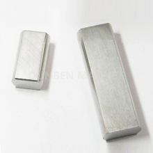 High Temperature Cast Permanent Alnico 5 Magnet Block For Magnetic Gauges and Instruments