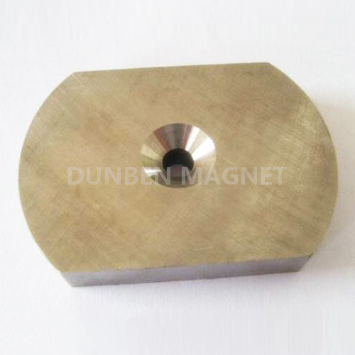 Alnico Ring Electric Motor Magnets , Arc Ring Magnet for DC Motors