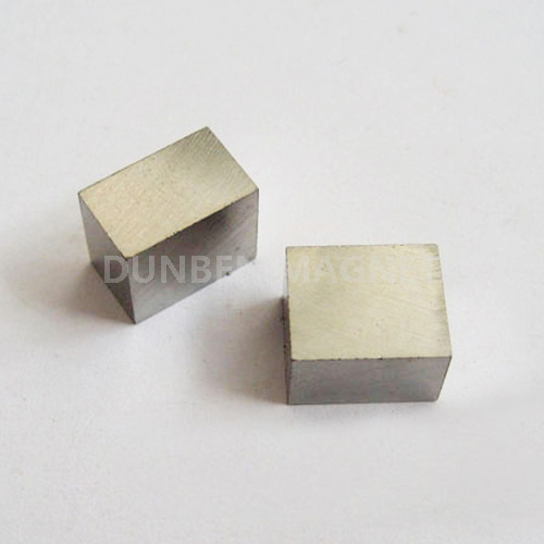 Permanent AlNiCo 5 block magnet for electro magnetic chuck magnet