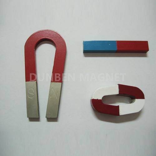 U Shape Traditional AlNiCo Horseshoe Magnet for Education